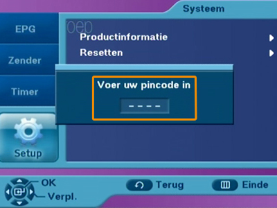 Satelliet-master-pincode Hoe begin je met training?