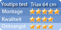 Triax schotel Test