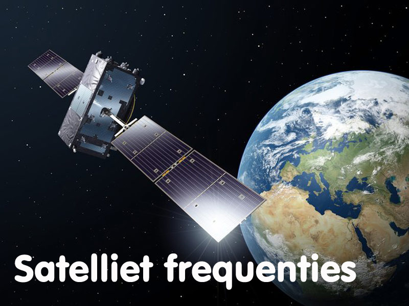 satelliet-frequenties WaveField satellietschotels