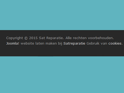 Template-footer-aanpassen Satelliet TV