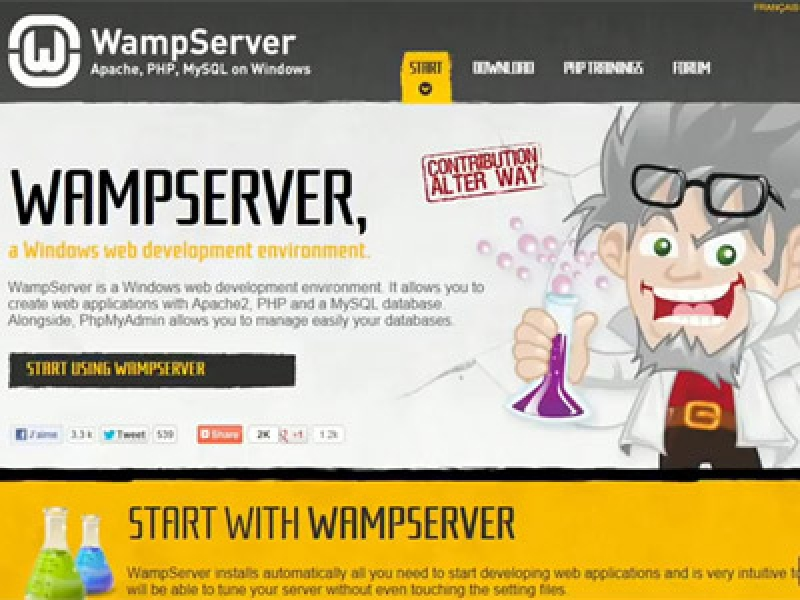 Apache-PHP-en-MySQL-installeren-via-wampserver Satelliet TV