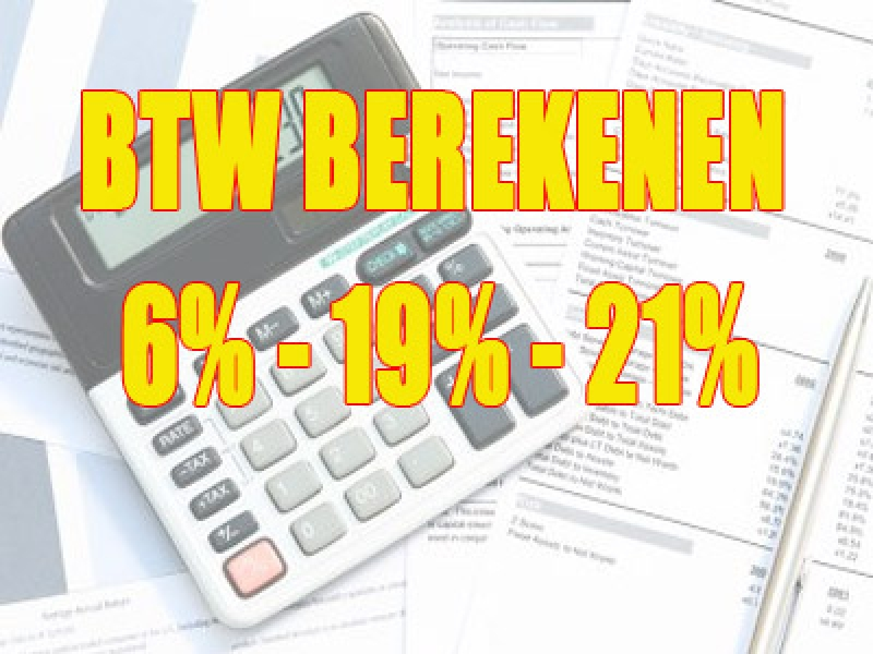 btw-berekenen Financien